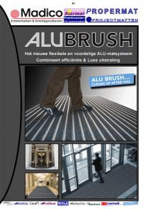 Alubrush Borstelmatten Madico