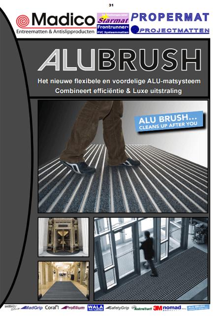 Alubrush Borstelmatten