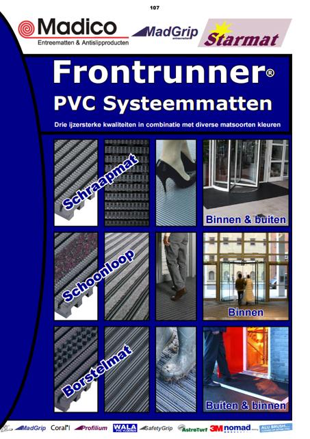 Frontrunner Borstelmatten