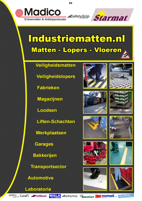 industriematten catalogus