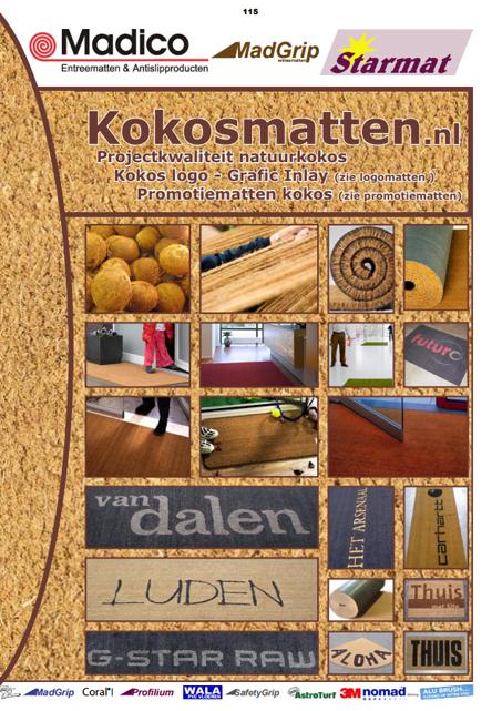 kokosmatten promotiematten madico catalogus
