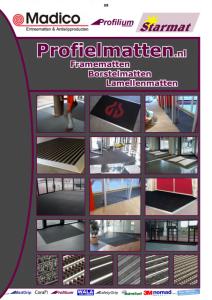 Profielmat Borstelmatten Madico catalogus