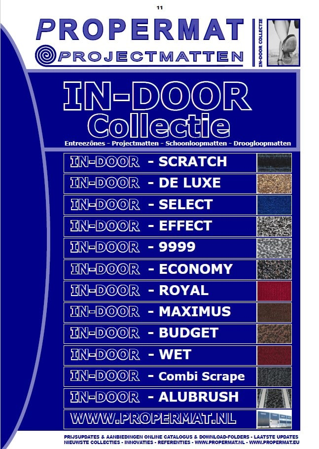 indoor collectie catalogus