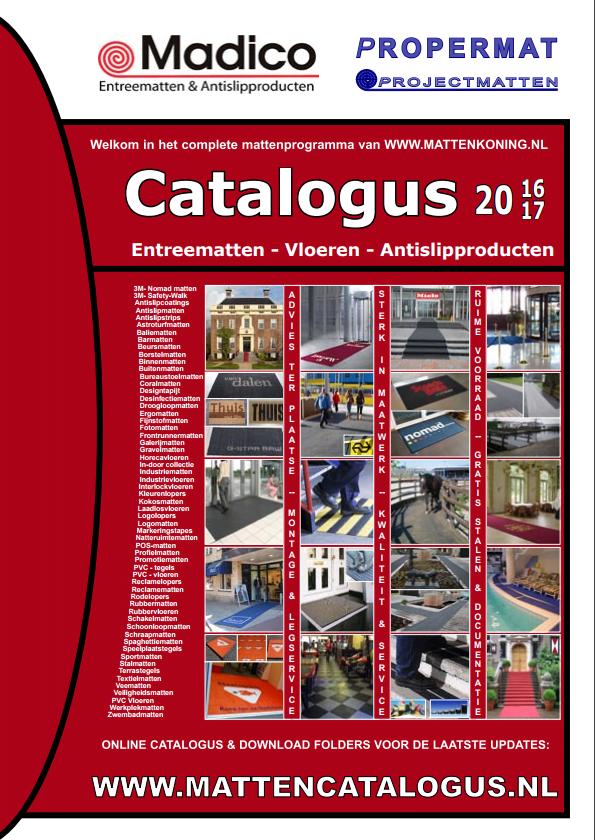 propermat catalogus entreematten vloeren antislipproducten
