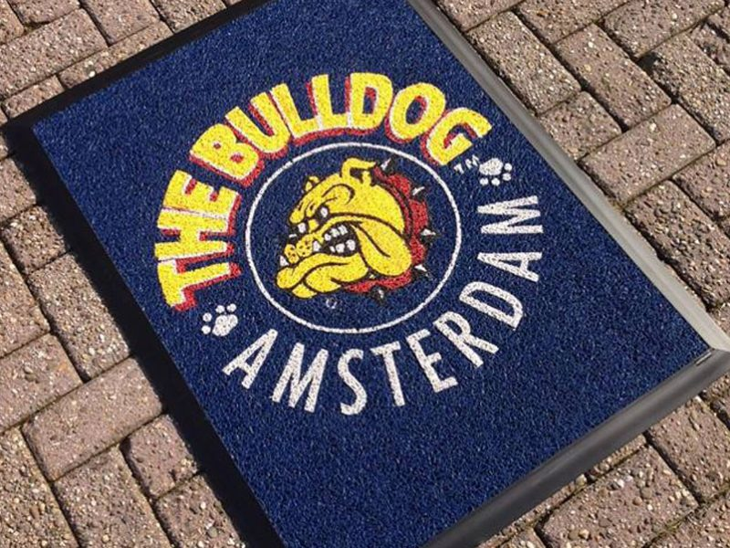 the bulldog amsterdam logomat