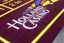 Holland casino pvc logomat